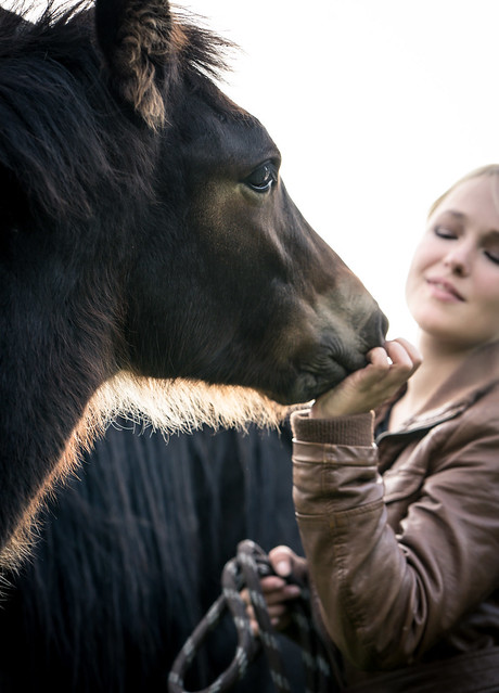 Girl and a Horse