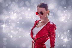 Lady in red... (Yaoluca) Tags: lips life portrait woman ritratto love canon1300d canon