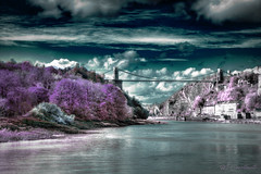 I Only Dream With Open Eyes (HiJinKs Media...) Tags: bristol dreams flickr infrared sky clouds nature world dream colours colori colores colors trees life road cliff gorge cars water bridge architecture houses home river avon uk landscape nikon daydream