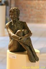 IMG_8093 (Patrick Williot) Tags: exposition vernissage ecuries sculpteur michal peintre genevieve nicolas