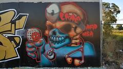 Lkae... (colourourcity) Tags: streetart streetartnow streetartaustralia melbourne melbournestreetart melbournegraffiti graffiti graffitimelbourne colourourcity nofilters awesome original lkae lk afp msa skull bestcharos
