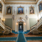 Grand  Staircase looking towards door - Wrest Park , Bedfordshire thumbnail