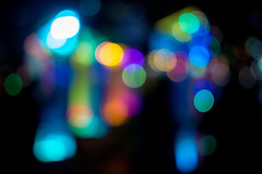 Bokeh (Dave Fine) Tags: circle glow colorful bokeh shapes light abstract mood abstractphotography lights outoffocus shape aesthetic baltimore maryland unitedstates us