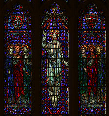 Go Out to the Whole World! (Lawrence OP) Tags: seminary sacredheart detroit stainedglass window apostles jesuschrist ascension