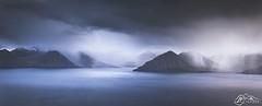 Eysturoy above Djúpini (►►M J Turner Photography ◄◄) Tags: eysturoy faroeislands føroyar færøerne djúpini thedepths atlanticocean atlantic ocean storm seascape