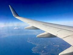 ボーイング737−800 Boeing737-800 (ELCAN KE-7A) Tags: 日本 japan 飛行機 airplane ボーイング boeing 737 b737 800 アップル アイフォーン apple iphone jal jl airlines 空 sky