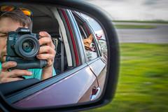 Road Trip 131/365 (stevemolder) Tags: car ride road trip corgi pembroke driving spring 365