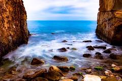 Sneak peek of heaven (hadil.ben.mahmoud94) Tags: mer sea nature iphone7plus iphone amateur tunisie tunisia