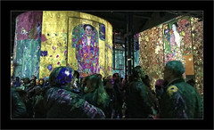 Série Atelier des Lumières: N° 1 (Jean-Louis DUMAS) Tags: lumière couleur color art artist artistic artistique peinture penture peinturemurale personnes people lux light