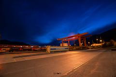Blue hour (em-si) Tags: kärnten carinthia austria österreich nikond800 irix15mm24 container fürnitz