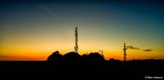 Billinge Hill (Steve Samosa Photography) Tags: billinge england unitedkingdom gb drone droneshot droneview drones uav aerial aerialview sunset dusk radiotower mast communications