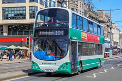 East Coast Buses 20797 SN56AEX (busmanscotland) Tags: east coast buses 20797 sn56aex sn56 aex volvo b7tl wright eclipse gemini lothian 797