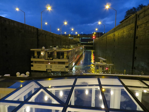 Pulling into a lock