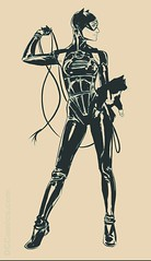 Catwoman's new outfit ({Toxic}) Tags: catwoman cat dc dccomics noir black woman female comic villain hero batman rebirth