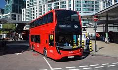 2615 Abellio London (KLTP17) Tags: sn18klf 2615 adl enviro400 mmc abellio london 196 vauxhall
