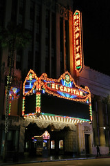 El Capitan Theatre (avilon_music) Tags: losangeleshistoricculturalmonument elcapitantheatre hollywoodblvd hollywood la historiclosangeles theater theatre 1926 elcapitan historictheaters moviepalace disney charlesetoberman markpeacockphotography nightshots streetscenes losangeles marquee neon neonbladesigns bulbneon