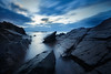 Dusk (RuneKC) Tags: bjärekusten sweden rocks clouds sunset dusk water rock sky sea ocean