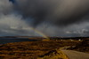 To Follow A Road Of Old (jakeof) Tags: rainbow clouds scotland shower gairloch