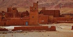 Kasbah Tammdakht (SM Tham) Tags: africa morocco atlasmountains kasbahtammdakht fortress fortifieddwelling building ruin earthenarchitecture