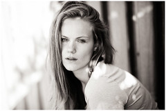 m. - no make-up (kajus.hh) Tags: portrait porträt sw bw woman frau female sonne sonnenschein 85mm 14 tfp shooting outdoor availablelight daylight nomakeup monochrom ungeschminkt natural natürlich pure pur