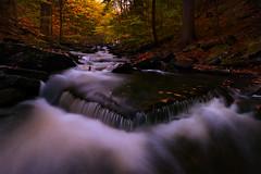 Triangle (circleyq) Tags: stream ricketts glen state park penn pennsylvania landscape fall color waterfall outdoor