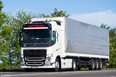 Volvo FH460 IV Globetrotter / Express Transport & Logistik (UA) (almostkenny) Tags: lkw truck camion ciężarówka ua ukraine ao ao5478bm expresstransportlogistik volvo fhiv globetrotter