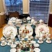 Lot tea sets