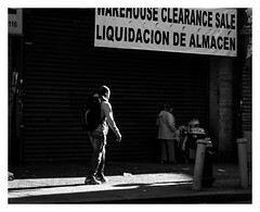 Fordham Road/ Bronx (mikeangol) Tags: monochrome blackandwhite new york city street photography people candid