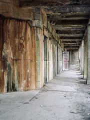 (Scuffles33) Tags: mamiya 120film portra160 mediumformat film abandoned fort urbanexploration mamiya645 kodak urbex ruins