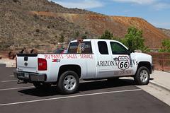 Get your kicks (twm1340) Tags: chevy chevrolet truck pickup arizona rv rvs parts sales service ad graphic silverado