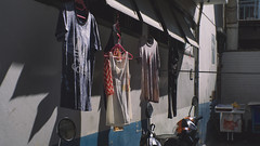 Hung Out To Dry (Shane Hebzynski) Tags: street clothes bangkok thailand outdoors