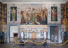 L'antichambre des Anges (Palais Farnese, Caprarola, Italie) (dalbera) Tags: dalbera escalier caprarola italie palaisfarnese vignola peinturesmurales maniérisme