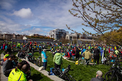 #POP2018  (175 of 230) (Philip Gillespie) Tags: pedal parliament pop pop18 pop2018 scotland edinburgh rally demonstration protest safer cycling canon 5dsr men women man woman kids children boys girls cycles bikes trikes fun feet hands heads swimming water wet urban colour red green yellow blue purple sun sky park clouds rain sunny high visibility wheels spokes police happy waving smiling road street helmets safety splash dogs people crowd group nature outdoors outside banners pool pond lake grass trees talking bike building sport