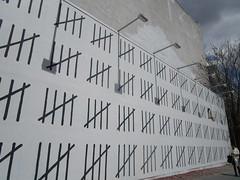 Free Zehra Dugan Wall - Banksy Houston St Mural 0638 (Brechtbug) Tags: free zehra dugan wall counting days banksy sidewalk painting graffiti arts downtown manhattan 04292018 new york city 2018 nyc art artist artwork silhouette anonymous brit british english uk united kingdom residency mystery houston street mural near bowery