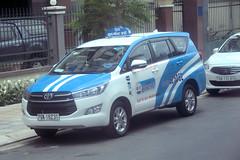 Toyota Innova taxi-Vietnam (CooverInAus) Tags: nha trang khánh hòa vietnam toyota innova minivan taxi number registration license plate