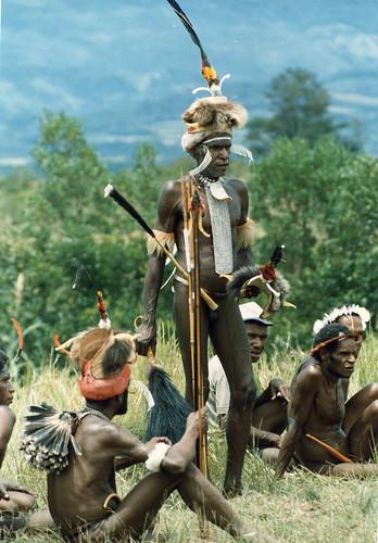 Baliem-afdrukken-059-Opnamefeest van jongelui in de stam