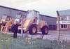 Third Way, Avonmouth, Bristol, 1983 (Reg of Whitehall) Tags: bristol 1983 avonmouth thirdway holtjcb jcb 410 loader loadingshovel forklift plant hire machinery construction