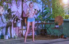 Summer Patio (Carmy Mirabeau aka Carmilla Mirabeau) Tags: vespertine hayabusadesigns tram catwa catya blueberry misschelsea scarletcreative insol aviglam randommatter maitreya lara empyreanforge zohaislands elibaily hive chicchica ariskea dahlia elise
