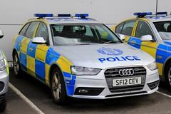 Police Scotland Audi A4 Abnormal Load Escort Car (PFB-999) Tags: police scotland ps audi a4 avant quattro estate abnormal wide load escort car vehicle unit lightbar grilles fendoffs leds sf12cev
