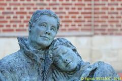 IMG_8085 (Patrick Williot) Tags: exposition vernissage ecuries sculpteur michal peintre genevieve nicolas