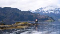 Anda fyr -|- Lighthouse in North (erlingsi) Tags: no nordfjord anda fyr lighthouse norway seaweed tang sjø