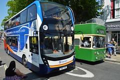 ADL Enviro 400 (PD3.) Tags: adl enviro 400 mmc 10892 yx67vce yx67 vce bus buses hampshire hants england uk stagecoach south winchester depot bar end barend