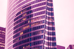 dystopia-0653 (justmyfotozz) Tags: paris ladefense dystopia cyberpunk pink hues lightroom france french