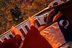 ºº vanTasTic mOrning ºº (m+m+t) Tags: dscf56091 mmt meredithbibersteindesign newzealand northisland hawkesbay haumoana fujixt1 fujixseries fujimirrorless 1855mm outdoors van campervan camping morning dawn sunrise vantastic cupoftea cuppa feet selfie cliftonroadreserve