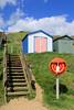 Pick a hut! (myraemery) Tags: huts beach colours seaside sea coast milford hampshire sky sunshine clouds steps canoneos70d canon18135mm