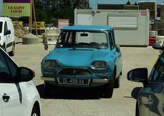 Citroën Ami 8 Break Amboise 11-05-18a (mugicalin) Tags: frenchcar classiccar twincylinder tweelingcilinder citroën citroëncar citroënclassic boxer boxermotor youngtimer smallcar flattwin fujifilm fujifilmfinepix fujifilmfinepixs1 s1 finepixs1 finepix 459 bluecar 2018 blue voiturebleue