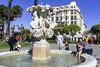 Fontaine des Tritons, Nice (www.alexandremalta.com) Tags: nice france fontaine des tritons people praça