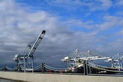 DSC_5703-61 (jjldickinson) Tags: nikond3300 103d3300 nikon1855mmf3556gvriiafsdxnikkor promaster52mmdigitalhdprotectionfilter freeway terminalislandfreeway ca47 ca103 longbeach portoflongbeach polb harbor longbeachharbor crane bridge