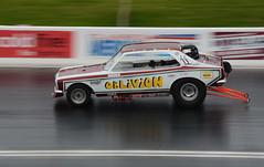 Oblivion_8737 (Fast an' Bulbous) Tags: drag race car doorslammer dragster classic vehicle automobile nikon panning fast speed motorsport