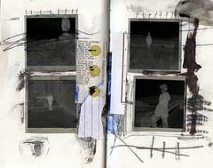 cale (Bernie Vander Wal) Tags: notebook collage
